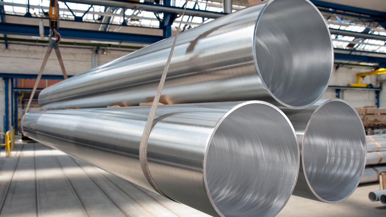Hersteller von Aluminiumrohren nach China verkauft