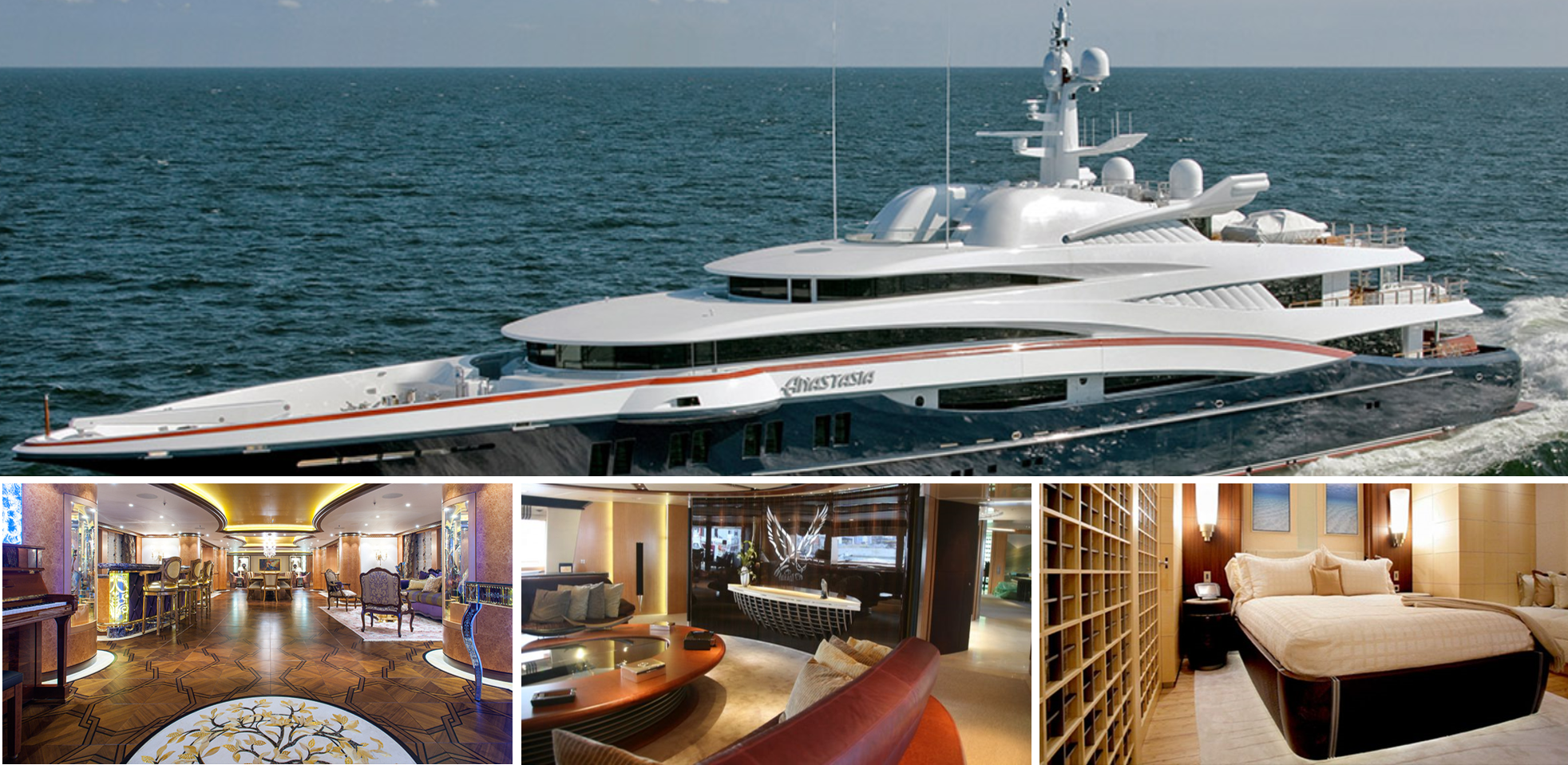 Interior outfitter of megayachts sold to French player